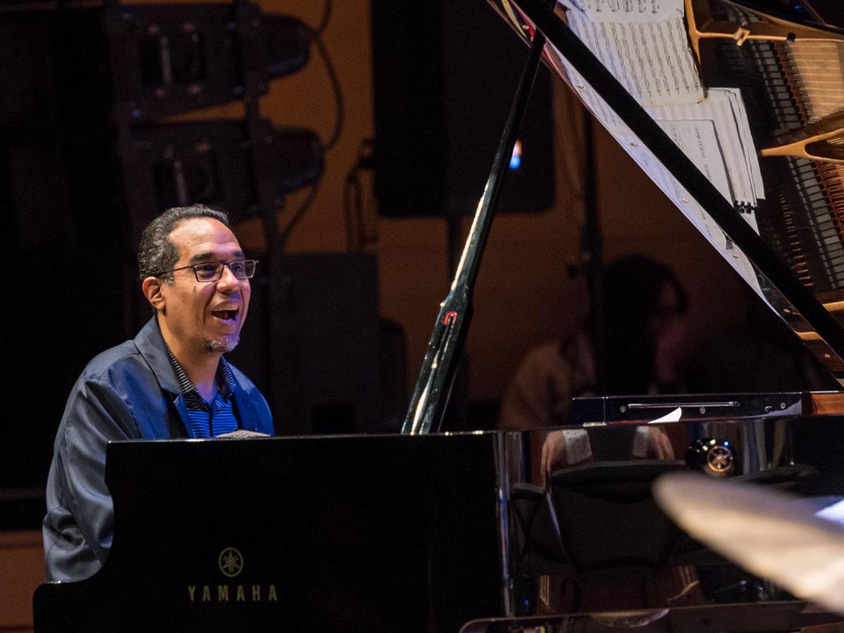 Danilo Pérez. Photo credit: The Royal Conservatory/Koerner Hall; Lisa Salulensky