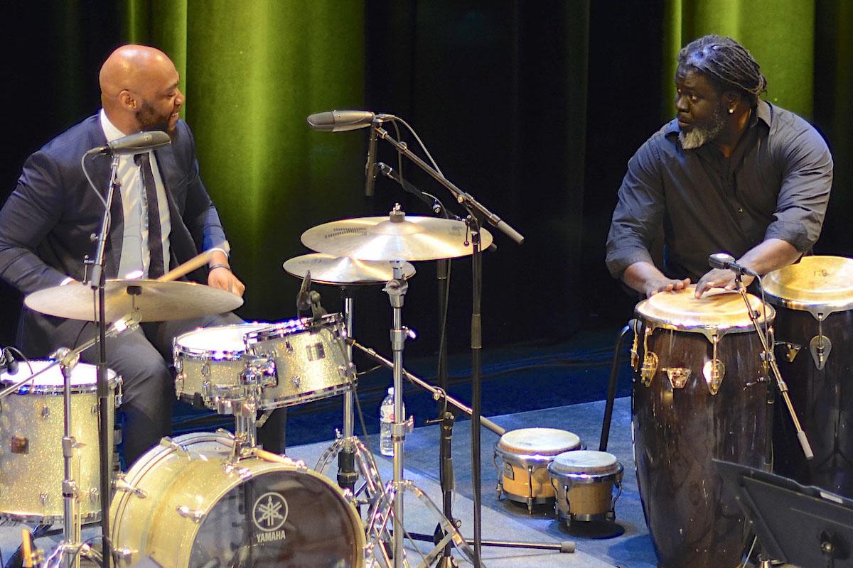 Gerald Watkins and Alexey Marti. Photo credit: Atael Weissman