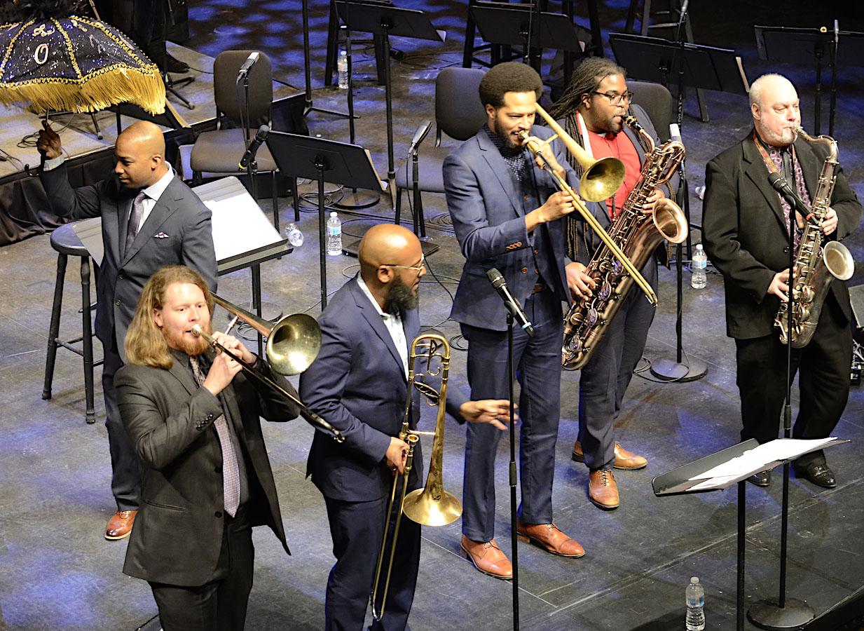 New Orleans Jazz Orchestra Second Line. Photo credit: Atael Weissman