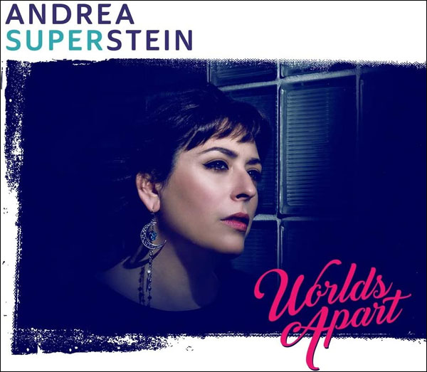 CD cover: Andrea Superstein · Worlds Apart