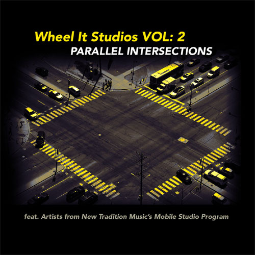 CD cover: Wheel It Studios Vol. 2 · Parallel Intersections